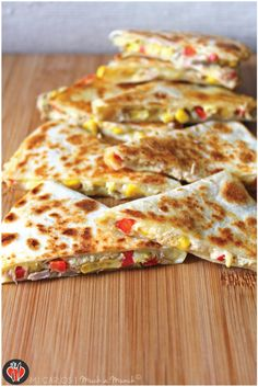 As the weather gets warmer, these Tuna & Corn Quesadillas would be the perfect meal!  Don't forget to use Ortega flour tortillas.  www.ortega.com