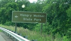 Funny name for a park. Highway sign in Virginia.
