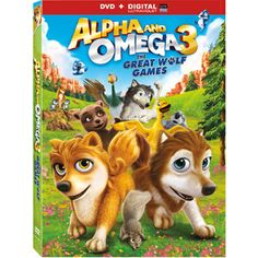 Alpha And Omega 3: The Great Wolf Games (DVD)(Walmart Exclusive)