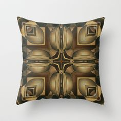 CenterViewSeries050 Throw Pillow by fracts - fractal art - $20.00