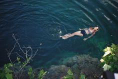 floating in the deep blue, aaaahhhhh