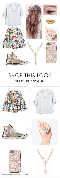 """""""Just hanging"""" by fashion-music4me on Polyvore featuring Jeremy Scott and Converse"""