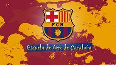 fc barcelona colored wallpapers