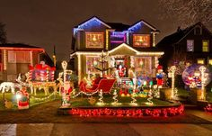 Decorating Landscape Design Ideas For Front Yards Best Outdoor Christmas Lights Christmas Decoration Storage Outside Lighted Christmas Decorations Landscaping Ideas Front Yard Best Outdoor Christmas Decorations, Christmas Lights Outside, Hanging Christmas Lights, Decorating With Christmas Lights, Christmas Yard, Magical Christmas, Holiday Lights, Holiday Decor, Outdoor Decorations