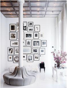 LOVE photo walls!