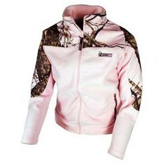 pink Mossy Oak Camo decor | Rocky Ladies Fleece Jacket Pink/Pink Break-Up