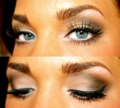 Amazing eye makeup! <3