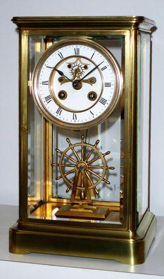 Antique Clock Crystal Regulator                                                                                                                                                                                 More