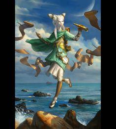 Moon Sage de Eric Deschamps Tamiyo.