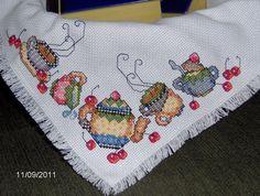 Mary Engelbreit Tea Time Basket Liner by StitchesbyLindy on Etsy,