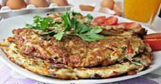 Syta i pyszna hiszpańska tortilla z ziemniakami, szynką i papryką. Jest idealna na śniadanie lub na obiad. 3 ziemniaki 4 piecz...