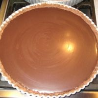 Twix Chocolate Pie Recipe ~ The pie is exactly the same combination of the famous twix bars.It is really delicious!