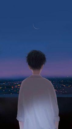 Trendy Ideas For Illustration Art Boy Sad Anime, Anime Guys, Wallpaper Animes, Couple Wallpaper, Anime Love Couple, Avatar Couple, Anime Scenery, Boy Art, Anime Art Girl