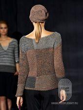 Пуловер , схема вязания на сайте Люди Вяжут