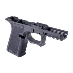 POLYMER80 PF940Cv1 80% FRAME AGGRESSIVE TEXTURE FOR GLOCK® 19/23/32 GREY   Brownells