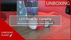 Unboxing Video über kleine LED-Birne für Camping, Angeln und Outdoor #unboxing #video #ledbirne #outdoor #camping #angeln #unboxingplanet Video News, Camping, Outdoor, Fishing, Campsite, Outdoors, Outdoor Games, The Great Outdoors, Campers