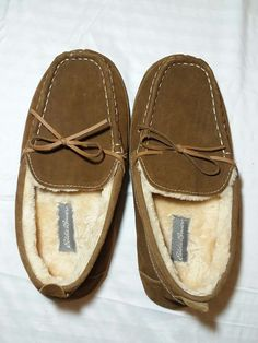 191756b9e46 Extra Off Coupon So Cheap Eddie bauer suede justin slippers