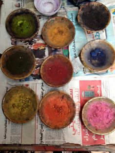 Pigments - Marrakesh. Photo: Louisa Sorrentino