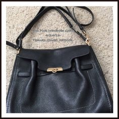 "Ferragamo purse 🎉✨ 3 x HP Beautiful black Ferragamo purse. Rarely worn. Can be hand held or over shoulder. Purchased at Ferragamo's first store in Florence, Italy. I bought it approximately five years ago but the size was never right for me. I have another listing with it so you can see the minor flaws. I am always open to reasonable offers. Not available for bundles. Bottom is 13"". Across the top is 10"". 9"" down side. Salvatore Ferragamo Bags Shoulder Bags"