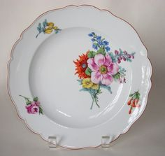 Meissen plate 【アンティーク マイセン」】 食卓の西洋アンティーク withLoveFromNewYork.com