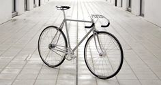 This All-Silver Road Bike Is a Work of Art on Wheels. A gorgeous ride celebrating the Olympic Games.