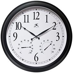 Infinity Instruments The Definitive Radio Controlled Wall Clock * For more information, visit image link. (This is an affiliate link and I receive a commission for the sales)