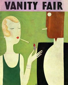 Celebrate today in style. V.F.s January 1930 cover illustrated by Eduardo Garcia Benito.  via VANITY FAIR MAGAZINE OFFICIAL INSTAGRAM - Celebrity  Fashion  Politics  Advertising  Culture  Beauty  Editorial Photography  Magazine Covers  Supermodels  Runway Models