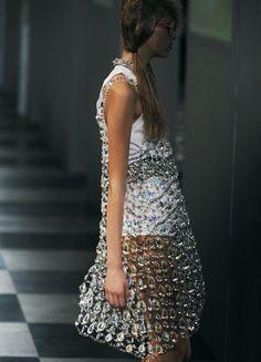 Chandelier crystal dress.  Love.  Love.  Love.