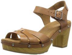 Clarks Ledella Trail Women Open Toe Leather Sandals -- For more information, visit now - Clarks sandals