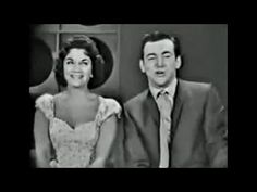 """Connie Francis / Bobby Darin """"You're The Top""""  (Ed Sullivan Show) 1960 [Remastered] YouTube"""