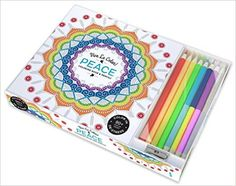 Vive Le Color! Peace (Adult Coloring Book and Pencils): Color Therapy Kit: Abrams Noterie: 9781419722875: Amazon.com: Books