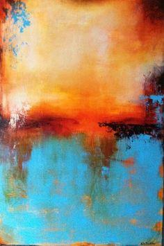 """""""Tequila Sunrise"""" (Original Art from Karen A. Taddeo)"""