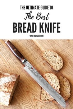 The 10 Best Bread Knives [Buying Guide] - NomList Kitchen Knives, Kitchen Tools, Kitchen Products, Cooking Games, Cooking Tools, Cool Kitchen Gadgets, Cool Kitchens, Bread Knives, Clay Pizza Oven