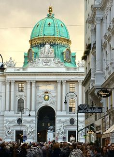 Michaelertor - Vienna, Austria