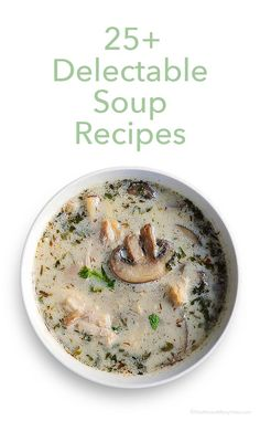 In the list of soup recipes below you'll find a variety with recipes that will please even those who don't think they like soup. shewearsmanyhats.com