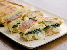 When To Use Fresh/Frozen Spinach  Grilled Sandwiches - cheese and spinach - yes  #holidayentertaining and #huffposttaste.