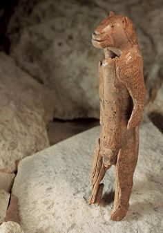 The Lion Man of the Hohlenstein Stadel, created in Germany 40,000 years ago.