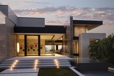 The Sunset Strip Residence by Los Angeles-based McClean Design Architects is a striking