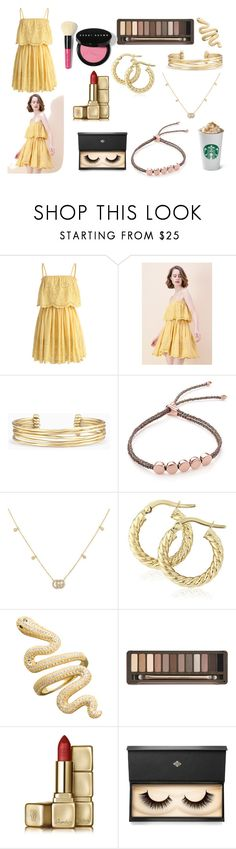 """SIMPLE 2"" by hcps-cleghorse ❤ liked on Polyvore featuring Chicwish, Stella & Dot, Monica Vinader, Gucci, Urban Decay, Guerlain, Lash Star Beauty and Bobbi Brown Cosmetics"