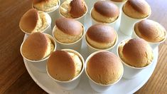 紙コップでふわふわシフォンケーキ。豆乳でしっとり♪バター&油不使用 | ぎゅってWeb