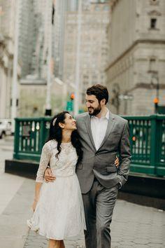 meher + alex / new york city city hall wedding   lauren spinelli photography