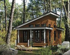 Plan W80674PM: Canadian, Cottage, Metric, Vacation, Contemporary, Narrow Lot House Plans & Home Designs