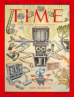 1960 Time Magazine Cover  Old style illustration, I enjoy the use of motifs but find myself confused with all culter on illustrations everywhere. Perhaps try to simplify my ideas, being able to connect with the target audience using less imagery and focusing rather on the overall idea.
