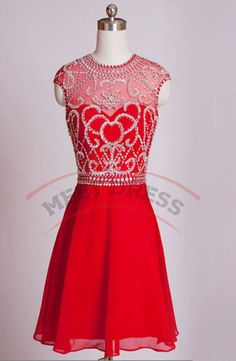 Top Seller A-line Homecoming Dresses,Rhinestone Cocktail Dresses,Knee Length Cocktail Dresses,Short Homecoming Dresses Cocktail Dresses