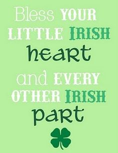 Bless your little Irish heart and every other Irish part. @Niall Dunican Dunican Dunican Dunican Dunican Horan  :)
