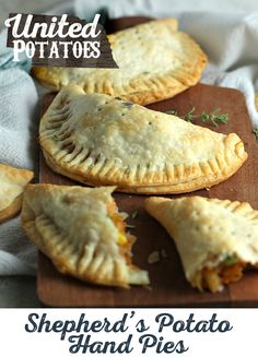 Unique, delicious and easy Shepherd's Pie Hand Pies will look like you slaved away in the kitchen when it actually only took 30 minutes.