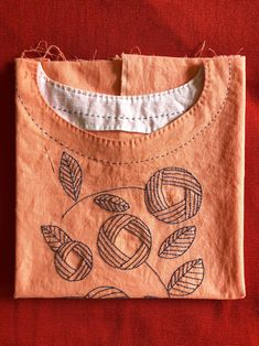 Grand Sewing Embroidery Designs At Home Ideas. Beauteous Finished Sewing Embroidery Designs At Home Ideas. Embroidery On Kurtis, Kurti Embroidery Design, Hand Embroidery Dress, Embroidery On Clothes, Sashiko Embroidery, Embroidery Suits, Embroidered Clothes, Japanese Embroidery, Hand Embroidery Patterns