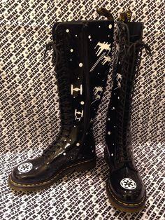 SW aangepaste laarzen van OrionsOriginals op Etsy