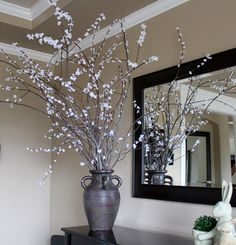 I have been wanting to makefaux spring blossom branches ever since I saw Susie Harris  make some a few weeks ago. You take cheap blossoms a...