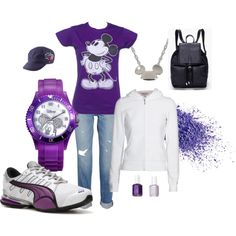 Disney Vaca. in Purple, created by tami-story-bierschbach on Polyvore